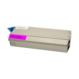 Logic-Seek  Toner kompatibel zu OKI C7000 41304210 HC Magenta