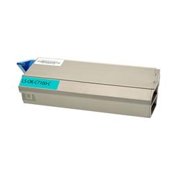 Logic-Seek  Toner kompatibel zu OKI C7100 41963007 HC Cyan