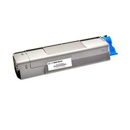 Logic-Seek  Toner kompatibel zu OKI C5800 43324424 HC Schwarz