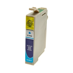 Logic-Seek  Tintenpatrone kompatibel zu Epson Stylus R265 T0802 C13T08024011 XL Cyan