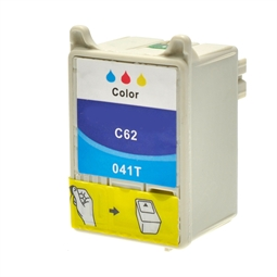 Logic-Seek  Tintenpatrone kompatibel zu Epson Stylus C62 T041 C13T04104010 XL Color