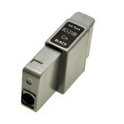 Logic-Seek  Tintenpatrone kompatibel zu Canon BCI-21BK 0954A002 XL Schwarz