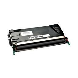 Logic-Seek  Toner kompatibel zu Lexmark C520 C522 C530 C5222KS HC Schwarz
