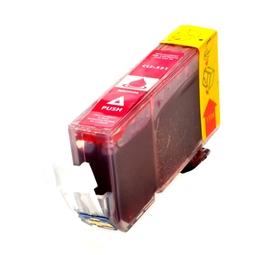 Logic-Seek  Tintenpatrone kompatibel zu Canon CLI-521M 2935B001 XL Magenta