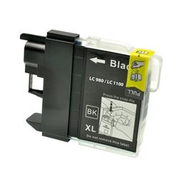 Logic-Seek  Tintenpatrone kompatibel zu Brother LC-1100BK XL Schwarz