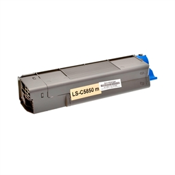 Logic-Seek  Toner kompatibel zu OKI C5850 43865722 HC Magenta