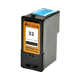 Logic-Seek  Tintenpatrone kompatibel zu Lexmark 32 18C0032E XL Schwarz
