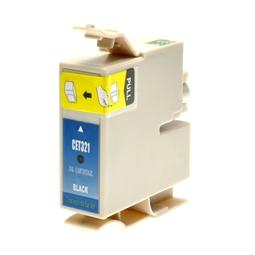 Logic-Seek  Tintenpatrone kompatibel zu Epson Stylus C70 C80 C82 T0321 C13T03214010 XL Schwarz