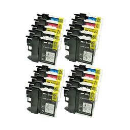 Logic-Seek 20 Tintenpatronen kompatibel zu Brother LC-1100 XL