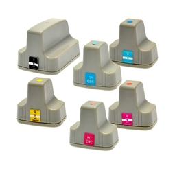 Logic-Seek 6 Tintenpatronen kompatibel zu HP 363 XL