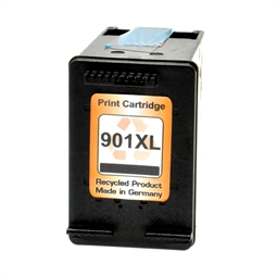 Logic-Seek  Tintenpatrone kompatibel zu HP 901XL CC654AE XL Schwarz