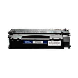 Logic-Seek  Toner kompatibel zu HP 53X Q7553X UHC Schwarz