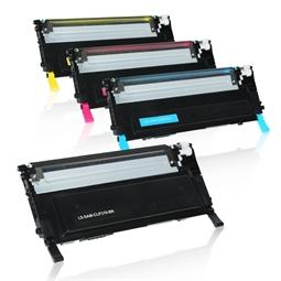 Logic-Seek 4 Toner kompatibel zu Samsung CLP-310 HC