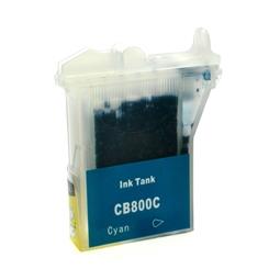 Logic-Seek  Tintenpatrone kompatibel zu Brother LC-800C XL Cyan