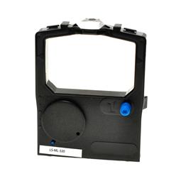 Logic-Seek Farbband kompatibel zu OKI ML-182 ML-320 9002303 Schwarz