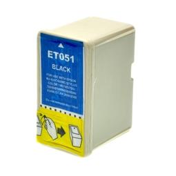 Logic-Seek  Tintenpatrone kompatibel zu Epson Stylus 800 T0511 C13T05114010 XL Schwarz