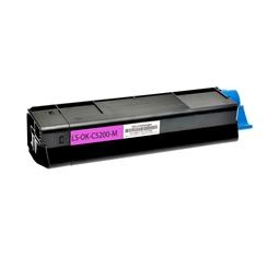 Logic-Seek  Toner kompatibel zu OKI C5200 42804506 HC Magenta