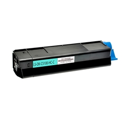 Logic-Seek  Toner kompatibel zu OKI C5100 42127407 HC Cyan