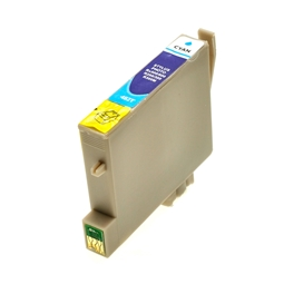 Logic-Seek  Tintenpatrone kompatibel zu Epson Stylus R300 T0482 C13T04824010 XL Cyan