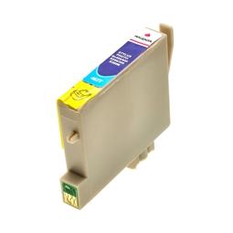 Logic-Seek  Tintenpatrone kompatibel zu Epson Stylus R300 T0483 C13T04834010 XL Magenta