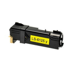 Logic-Seek  Toner kompatibel zu Xerox Phaser 6125 106R01333 HC Yellow