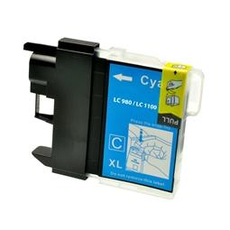 Logic-Seek  Tintenpatrone kompatibel zu Brother LC-980C XL Cyan