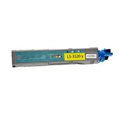 Logic-Seek  Toner kompatibel zu OKI C3520 43459369 HC Yellow