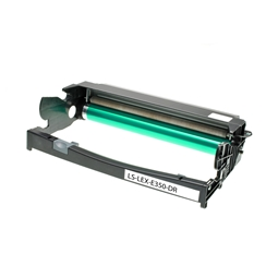 Logic-Seek Trommeleinheit kompatibel zu Lexmark E350 E250X22G Schwarz