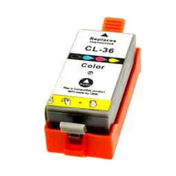 Logic-Seek  Tintenpatrone kompatibel zu Canon CLI-36 1511B001 XL Color