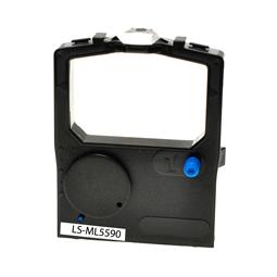 Logic-Seek Farbband kompatibel zu OKI ML-5590 1126301 Schwarz