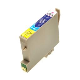 Logic-Seek  Tintenpatrone kompatibel zu Epson Stylus R300 T0486 C13T04864010 XL Photo Magenta