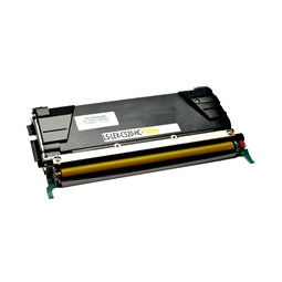 Logic-Seek  Toner kompatibel zu Lexmark C520 C522 C530 C5222YS HC Yellow