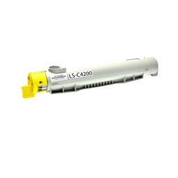 Logic-Seek  Toner kompatibel zu Epson C4200 0242 C13S050242 HC Yellow