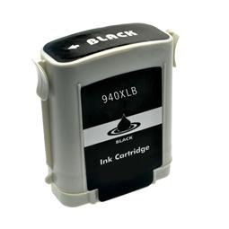 Logic-Seek  Tintenpatrone kompatibel zu HP 940XL C4906AE XL Schwarz