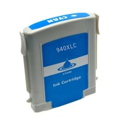 Logic-Seek  Tintenpatrone kompatibel zu HP 940XL C4907AE XL Cyan