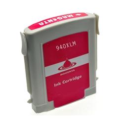 Logic-Seek  Tintenpatrone kompatibel zu HP 940XL C4908AE XL Magenta