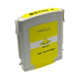 Logic-Seek  Tintenpatrone kompatibel zu HP 940XL C4909AE XL Yellow