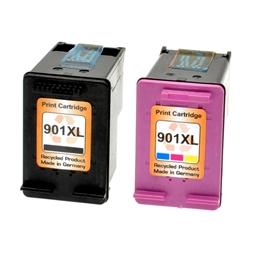 Logic-Seek 2 Tintenpatronen kompatibel zu HP XL