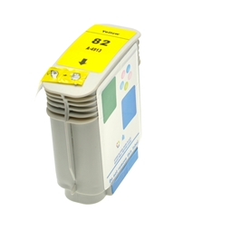 Logic-Seek  Tintenpatrone kompatibel zu HP 82 C4913A XL Yellow