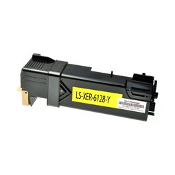Logic-Seek  Toner kompatibel zu Xerox Phaser 6128 106R01454 HC Yellow