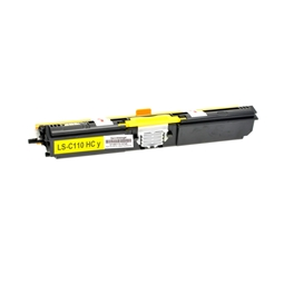 Logic-Seek  Toner kompatibel zu OKI C110 C130 44250721 HC Yellow