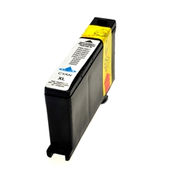 Logic-Seek  Tintenpatrone kompatibel zu Lexmark 100XLA 14N1093E XL Cyan