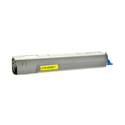 Logic-Seek  Toner kompatibel zu OKI MC860 44059209 HC Yellow