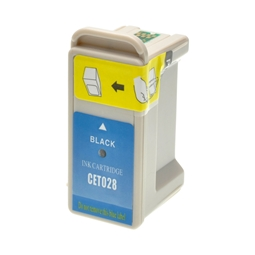 Logic-Seek  Tintenpatrone kompatibel zu Epson Stylus C60 T028 C13T02840110 XL Schwarz