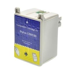 Logic-Seek  Tintenpatrone kompatibel zu Epson Stylus C60 T029 C13T02940110 XL Color