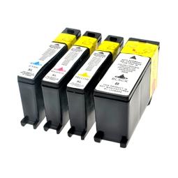 Logic-Seek 4 Tintenpatronen kompatibel zu Lexmark 100XLA XL