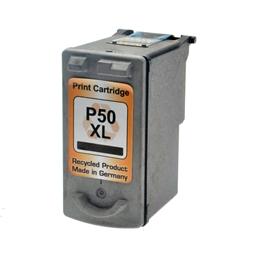 Logic-Seek  Tintenpatrone kompatibel zu Canon PG-50 0616B001 XL Schwarz
