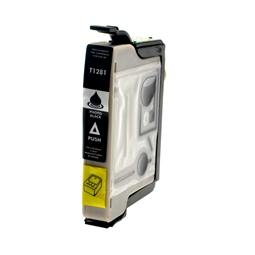 Logic-Seek  Tintenpatrone kompatibel zu Epson Stylus SX130 T1281 C13T12814011 XL Schwarz