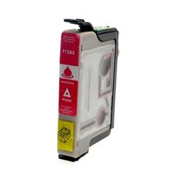 Logic-Seek  Tintenpatrone kompatibel zu Epson Stylus SX130 T1283 C13T12834011 XL Magenta