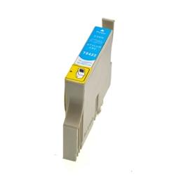 Logic-Seek  Tintenpatrone kompatibel zu Epson Stylus C82 T0422 C13T04224010 XL Cyan